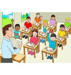 Classroom vector