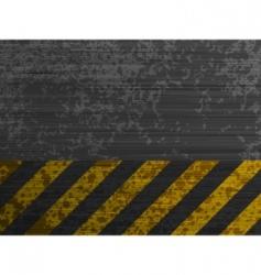 Grunge metal template background vector