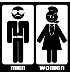 Men women vector