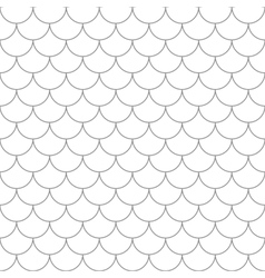 Seamless pattern with fish scales vector