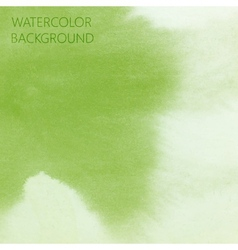 Abstract green lime watercolor background for your vector