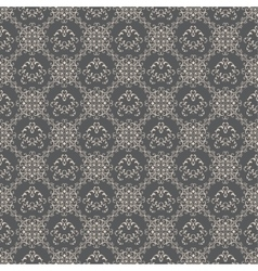 Floral pattern wallpapers in the style of baroque vector