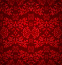 Floral gothic background vector