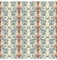 Seamless pattern stylized the ancient roman vector