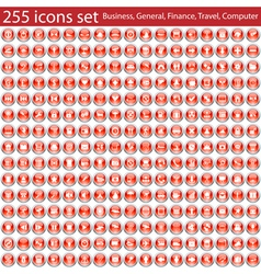 255 icons vector