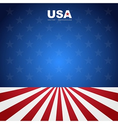 Usa flag pattern background vector