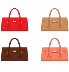 Female bags vector