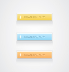 Download now button vector