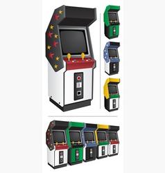 Arcade games vector