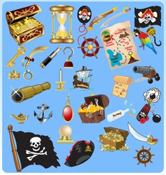 Treasure hunt vector