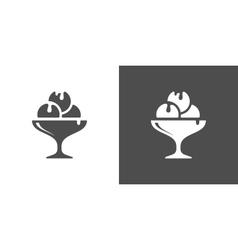 Icecream icon vector
