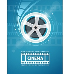 Cinema movie film vector