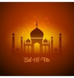 Eid al fitr eid mubarak background vector