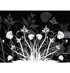 Floral chaos vector