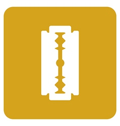 Objects collection razor blade vector