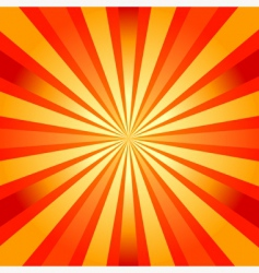 Abstract background with sunburst vector