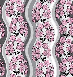 Sakura background vector