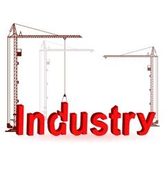 Crane construction vector