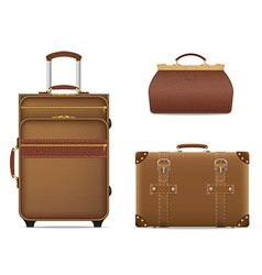 Travel bags 01 vector
