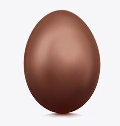 Chocolate egg vector