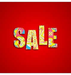 Colorful sale vector