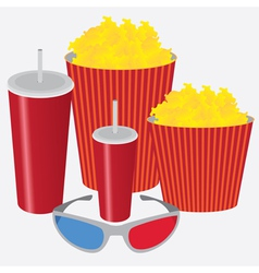 3d cinema vector