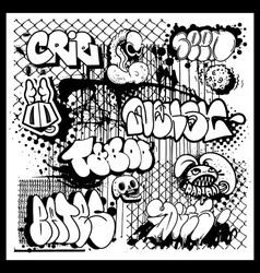 Street art graffiti vector