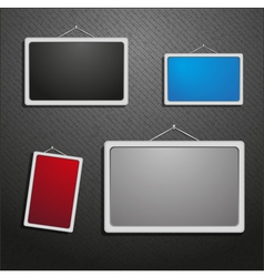 Picture frames vector