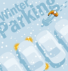 Winter parking vector