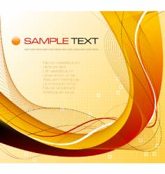 Abstract background composition vector