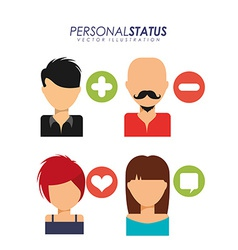 Personal status vector