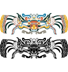 Aztec stencil vector