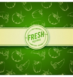 Culinary cover background vector