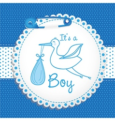 Baby arrival label vector