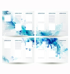 Brochure vector