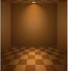 Brown room vector
