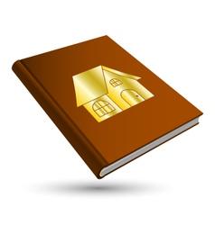 Home book vector