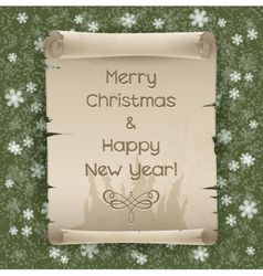 Congratulations to the christmas and new year vector