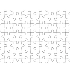 Jigsaw puzzle seamless background vector