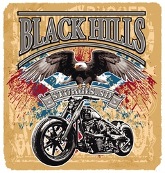 Blackhills rider vector