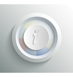 Icon info vector