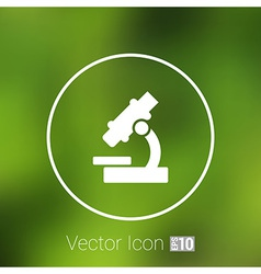 Icon researching research sign symbol technology vector