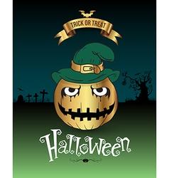 Happy halloween poster vector