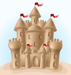 Sandcastle vector