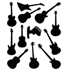 Guitars 2 vector