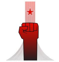 Revolution fist vector