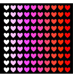 Heart background color shade vector