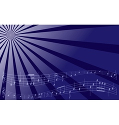 Violet music background vector