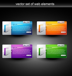 Web product display vector