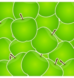 Apples sweet background vector